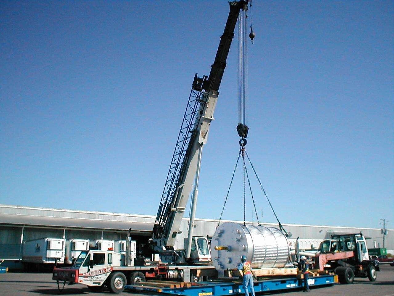 精密设备搬运、吊装方案