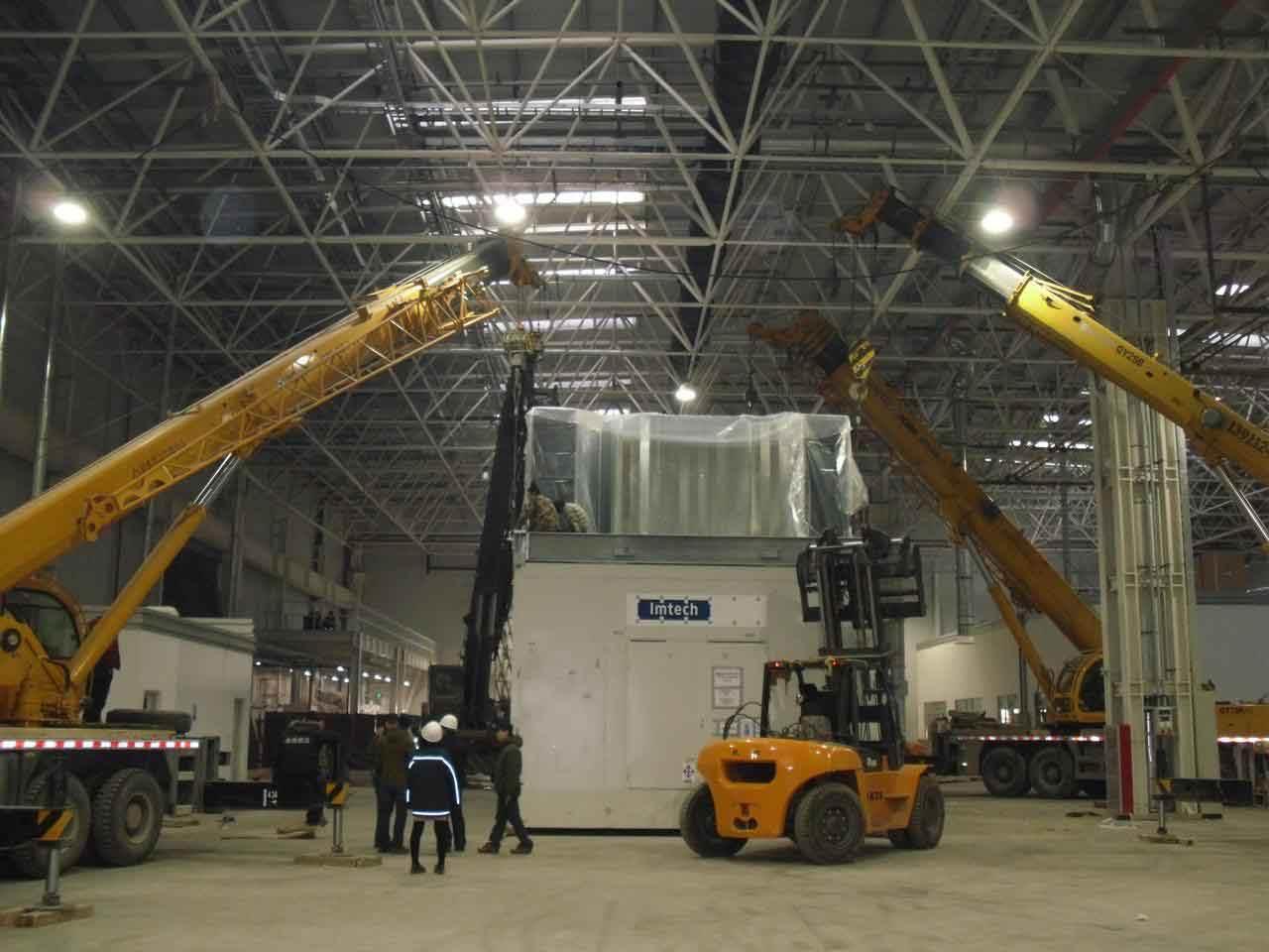 工厂大件吊装怎么保障安全